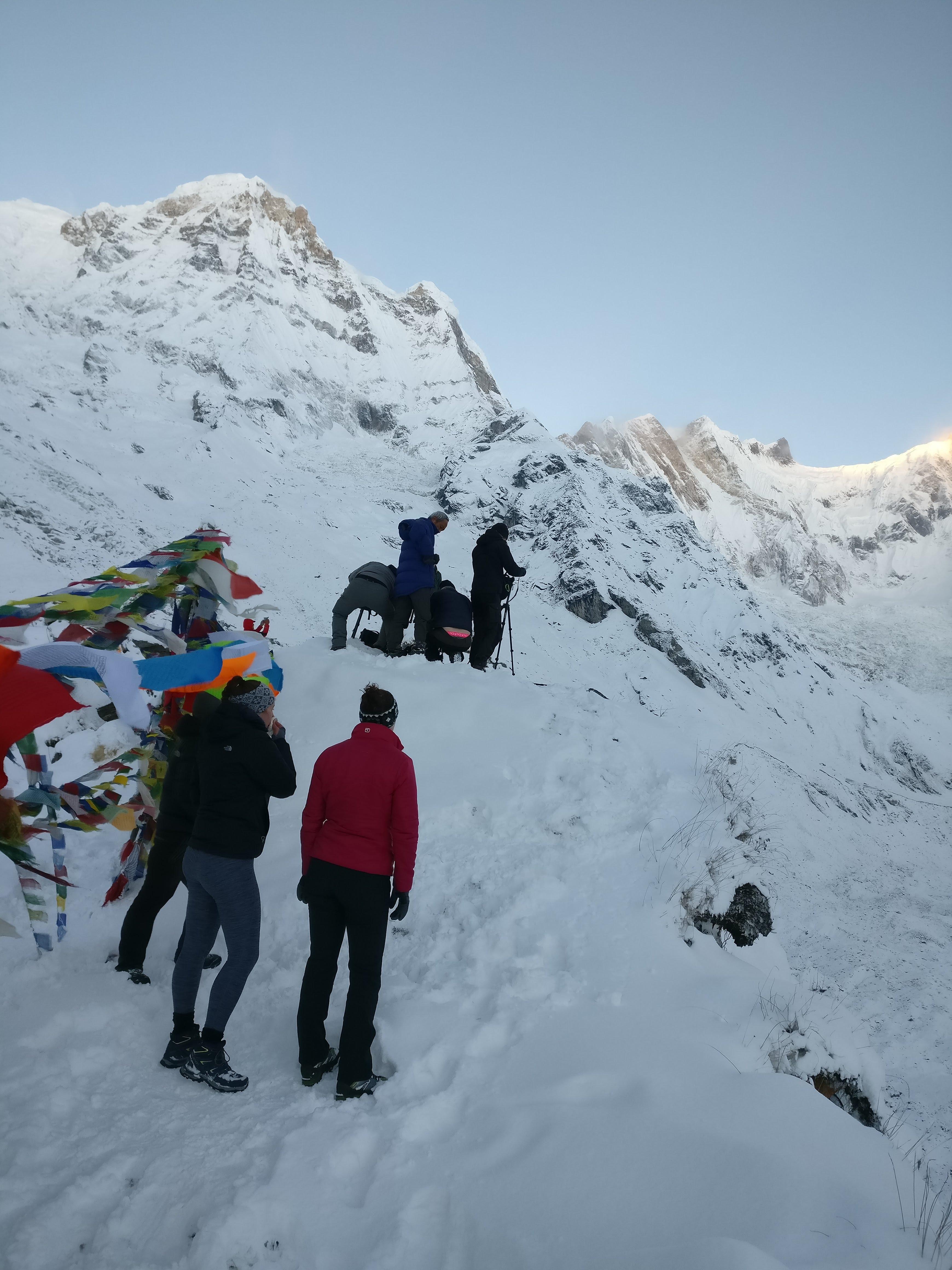 Flight to Mt. Everest